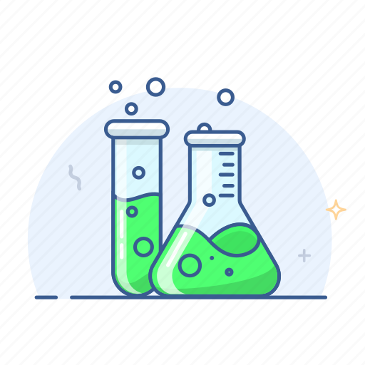 chemistry, education, flask, lab, laboratory, research, science icon