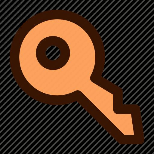 key, lock, password, unlock icon