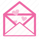 conversation, letter, love, message icon