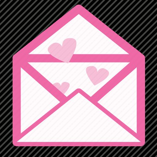 conversation, letter, love, message icon