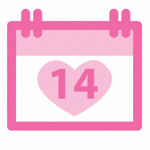 anniversary, calendar, date, february, holiday, love, romantic icon