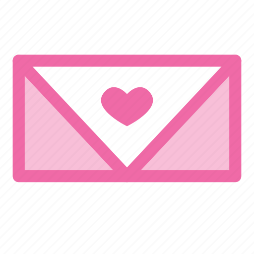conversation, heart, letter, love, message, text icon