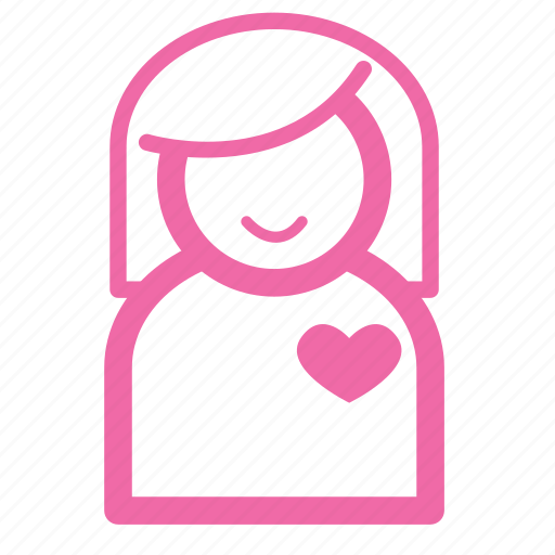 emotion, flirt, girl, love, person, romantic, women icon