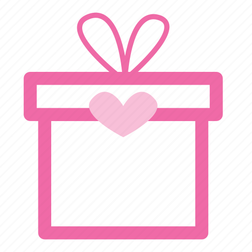box, date, gift, present, romantic icon