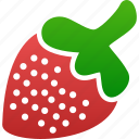berry, strawberry, sugar
