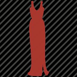 dress, lady, woman icon