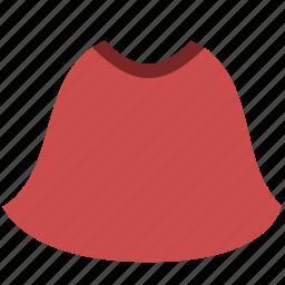 clothing, skirt icon