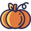 autumn, fall, holiday, orange, pumpkin, thanksgiving, yellow icon