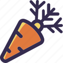 carrot, harvest, holiday, orange, thanksgiving icon