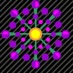 bud, flower, nature, violet icon