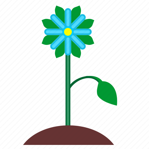 bud, flower, leaf, nature, plant icon