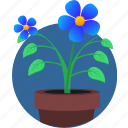 bud, eco, flower, garden, natural, plant, pot icon