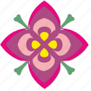 asian, bud, flower, ornament, thai icon