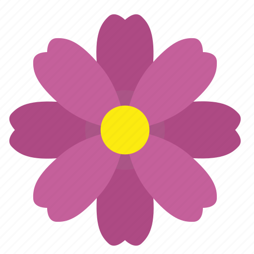 bud, flower, nature, violet icon