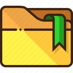 bookmark, favorite, folder icon
