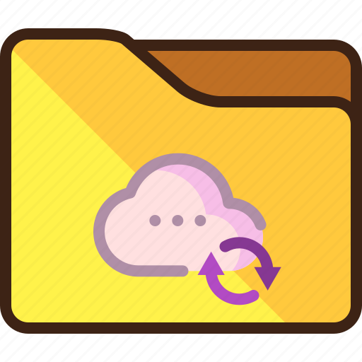 Cloud, progress, storage, syncing icon - Download on Iconfinder