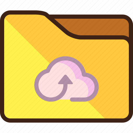 cloud, storage, upload icon