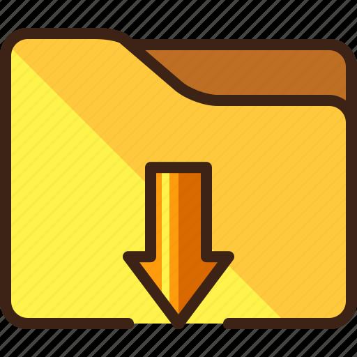 download, downloads, folder icon
