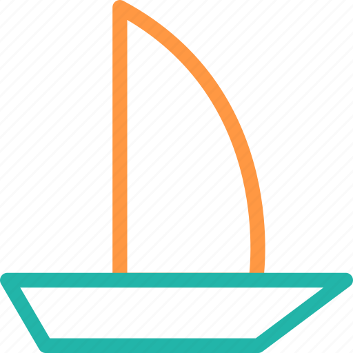 boating, canoe, canoe paddle, canoe with oar, oars, oars tool icon, • boat and oar icon