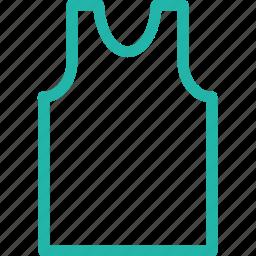 gym vest, sleeveless, sleeveless shirt, sports shirt icon