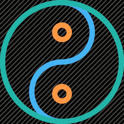 sports, yin yang, yin yang sports icon icon