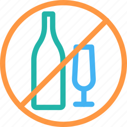 diet, drinking, drinks, healthy, not allowed, prohibited, signal icon