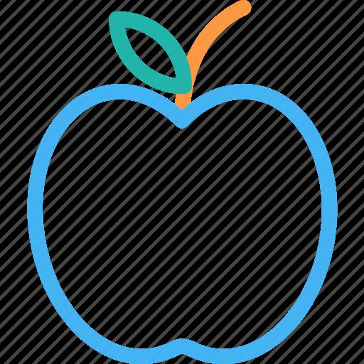 apple, food, fruit, healthy food icon