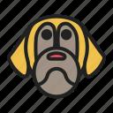 breed, dog, face, mastiff, pet icon