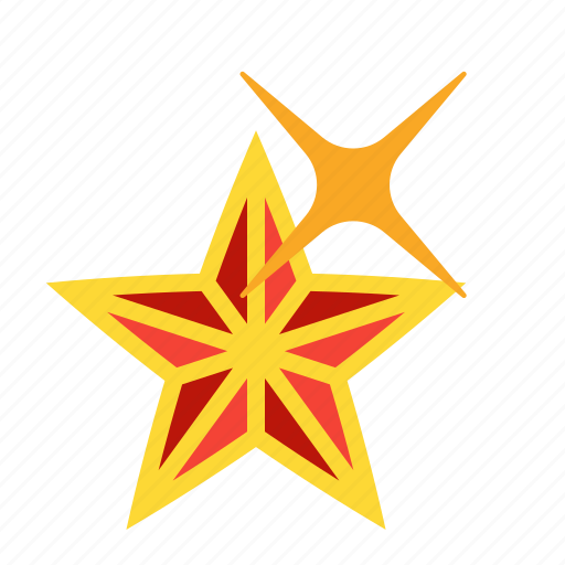 Christmas Decoration Noel Star Twinkle Icon