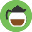 coffee, hot, teapot, water icon