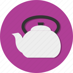 drink, teapot, water icon