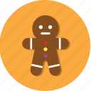 cake, cookie, doll, food icon