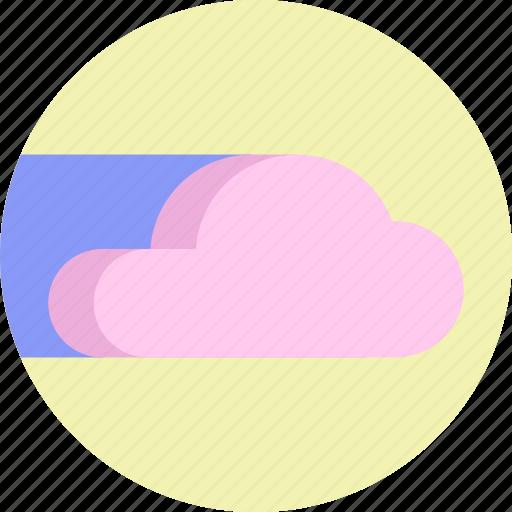 cloud, cloud service, cloud storage, colorful, network, server icon