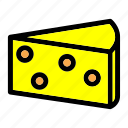 cheese, cooking, eat, food, italian, pizza, slice icon