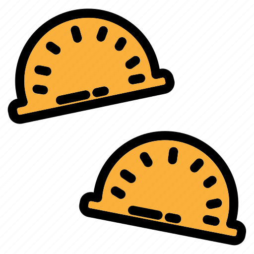 China, chinese, dumpling, food, fried, gyoza, meal icon - Download on Iconfinder