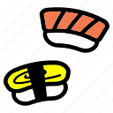 cooking, food, japanese, meal, rice, sushi icon