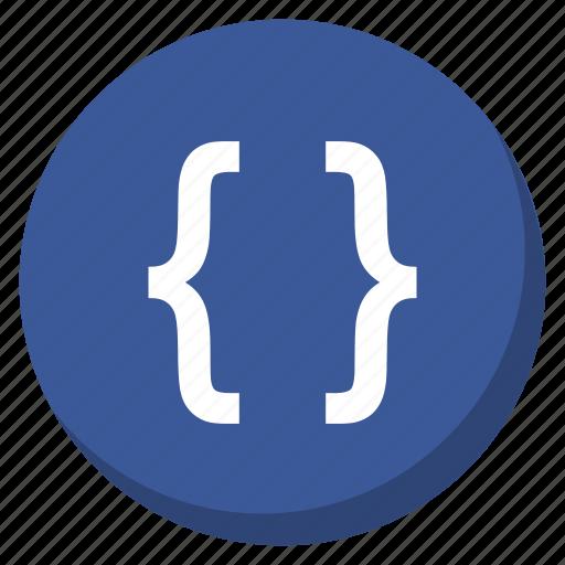 code, coding, darkblue, development, html, programming, web icon