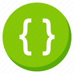 code, coding, data, extension, file, green, html icon