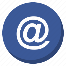 chat, communication, contact, darkblue, email, letter, message icon