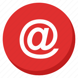 communication, contact, email, mail, message, red, talk icon