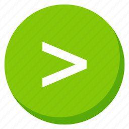 arrow, arrows, direction, green, higher, navigation, next icon