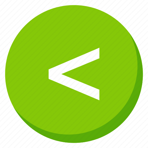 back, direction, green, left, lower, move, navigation icon