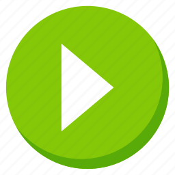 audio, green, media, music, play, player, song icon