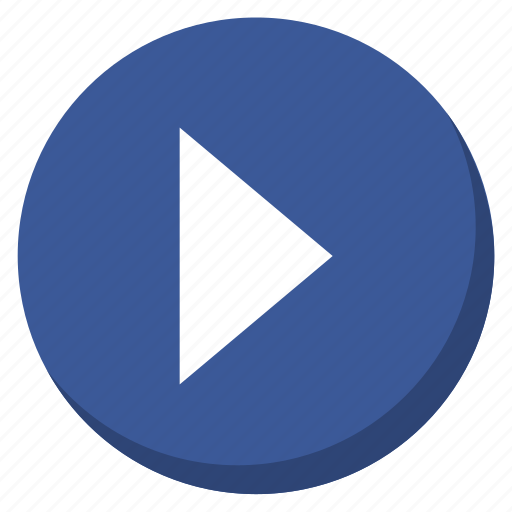 darkblue, media, multimedia, music, play, red, song icon