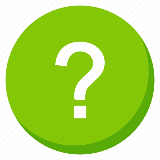 doubt, green, help, information, question, service, support icon