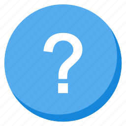 doubt, help, info, information, lightblue, question, support icon