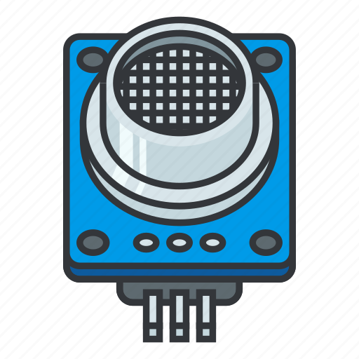 circuit, circuit diagram, electronic components, gas sensor, gas sensor  module, lpg, sensor icon