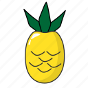 food, fruit, peanapple, tropical fuit icon