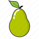 food, fruit, pear, summer fruit icon