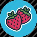 diet, food, fresa, fruit, fruits, strawberry, sweet icon